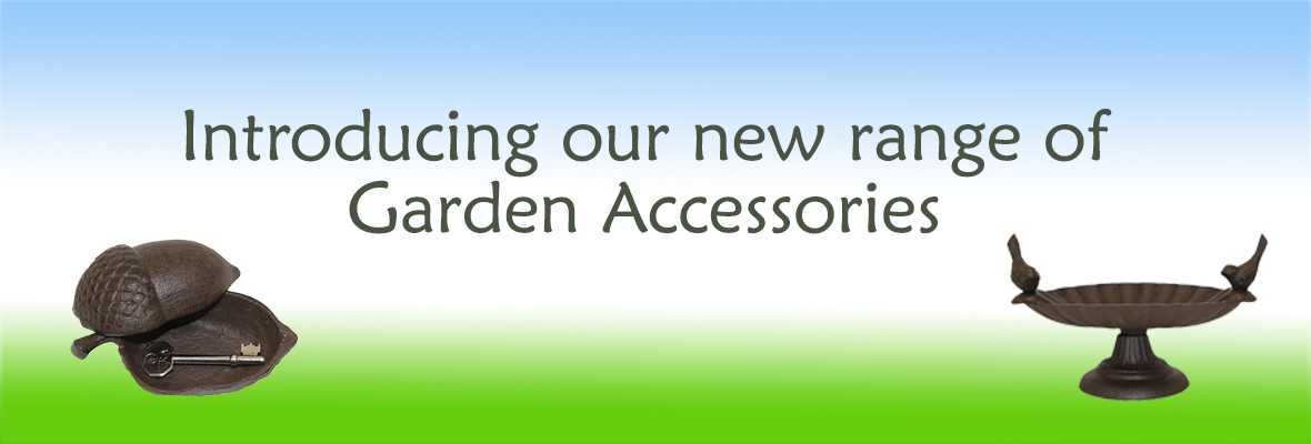 Introducing our new range of rustic garden accessories for Garden accessories online