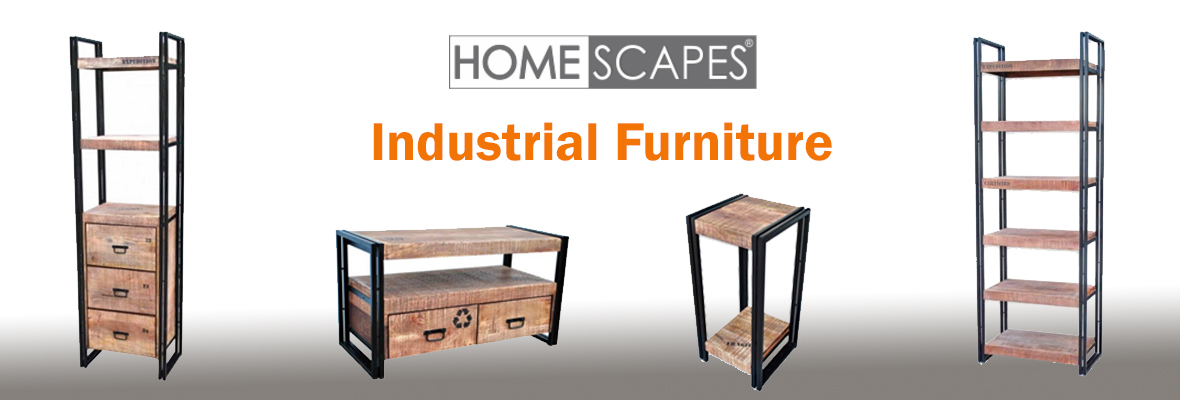 Industrial Furniture: How To Make Salvaged Style Work In Your Home
