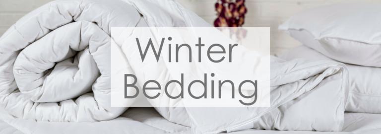 Winter bedding banner