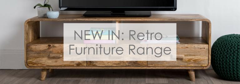 Retro furniture blog banner
