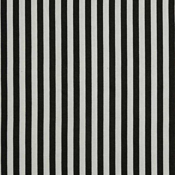 Pure Cotton Black White Thin Stripes Fabric 150cm Wide Sold Per Metre