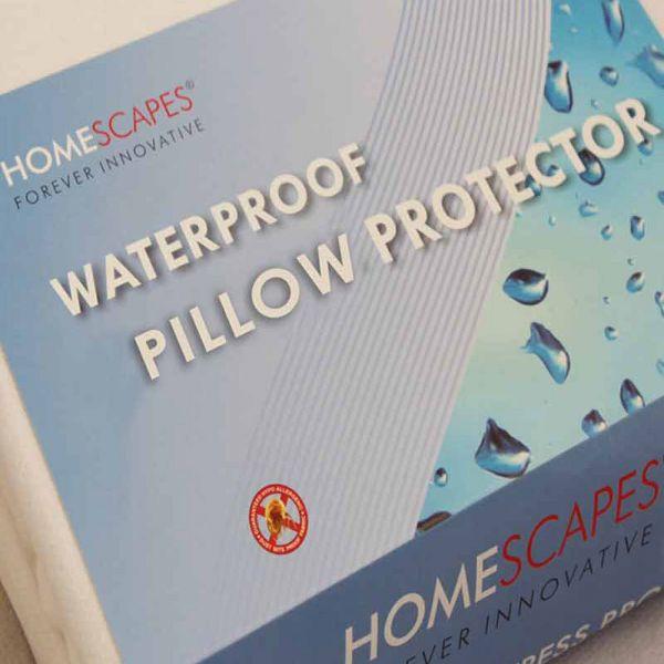 Polypropylene Waterproof Pillow Protector Pair