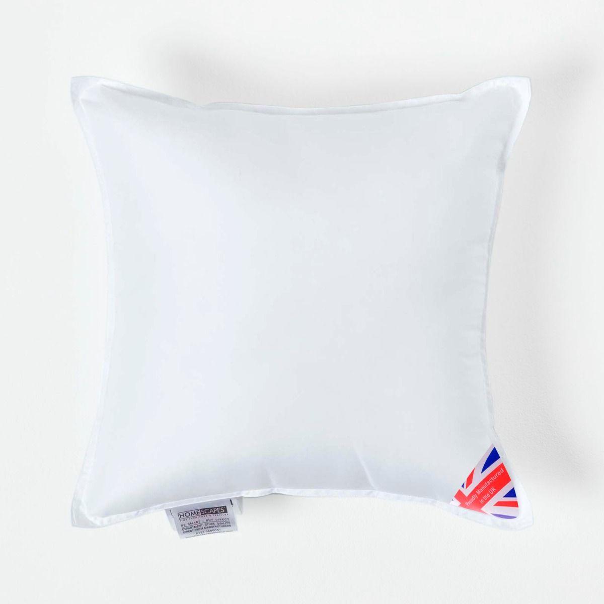 Duck Feather Hollowfibre Cushion Inner Insert Pads Filler Scatter Microfiber