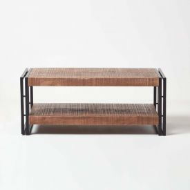 Reclaimed Wood Large Coffee Table Industrial Furniture Range