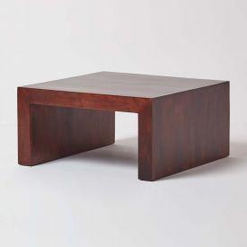 Dakota Square Coffee Table Dark Shade