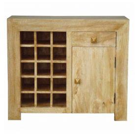 Dakota Sideboard with Wine Rack Oak Shade