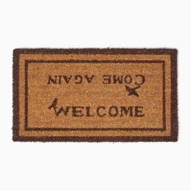 Welcome Come Again Coir Door Mat