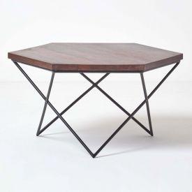 Orion Hexagon Coffee Table, Dark