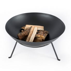 Metal Fire Bowl with Stand