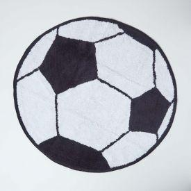 Cotton Tufted Washable Football Children Rug, 80 cm